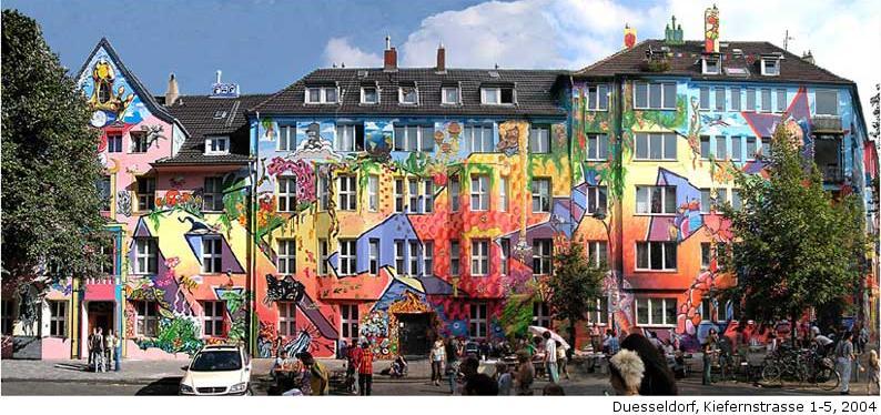 Mural Mobil 2004 Sch Ner Wohnen Auf Der Kiefernstrasse
